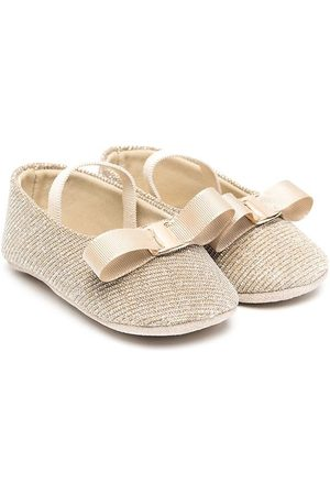 Babywalker Bow-detail ballerina shoes