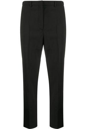 Incotex Cropped straight-leg trousers