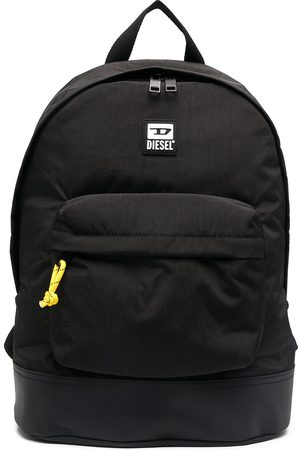 Diesel Logo patch backpack