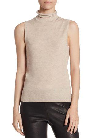Saks Fifth Avenue Women Turtlenecks - Women's COLLECTION Cashmere Turtleneck Shell - - Size Small
