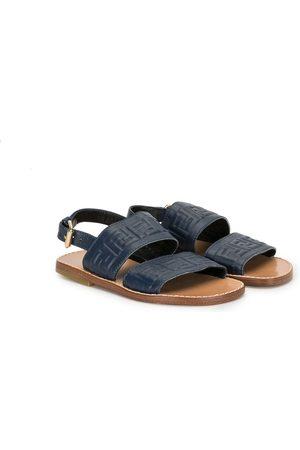 Fendi Logo-strap sandals