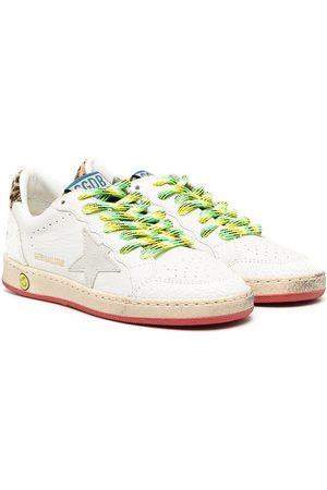 Golden Goose Girls Sneakers - Low top star patch sneakers