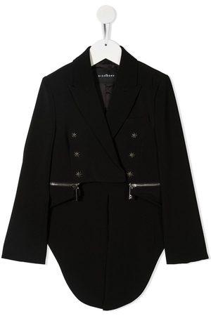 John Richmond Junior Awake zip-detail blazer