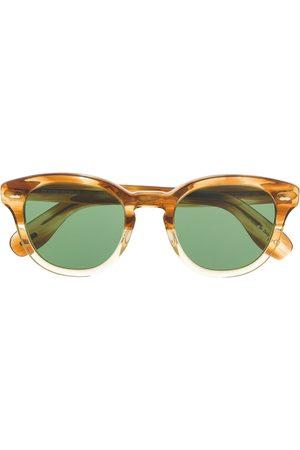 Oliver Peoples Men Sunglasses - Tortoiseshell detail sunglasses - Neutrals