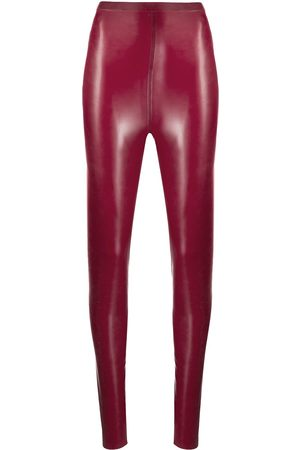 Saint Laurent Latex leggings