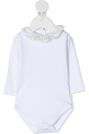 Marie-Chantal Rompers - Ruffled neck cotton body