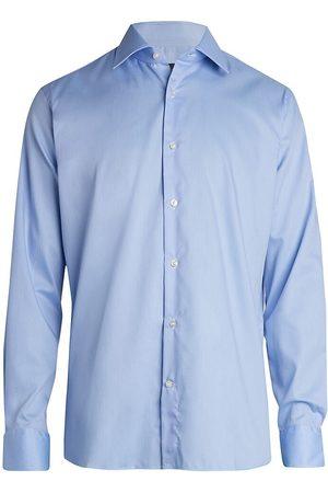 Saks Fifth Avenue Men's COLLECTION Broken Stripe Dress Shirt - - Size 14.5