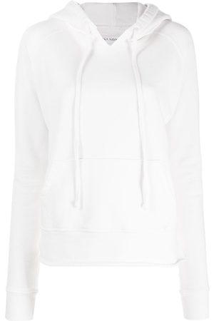 NILI LOTAN Raglan-sleeve hooded sweatshirt