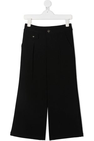 John Richmond Junior Infinity War wide leg trousers