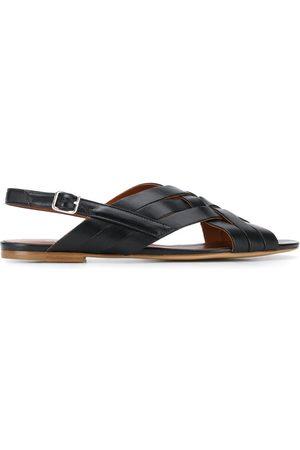 MICHEL VIVIEN Jaspe criss-crossed strappy sandals
