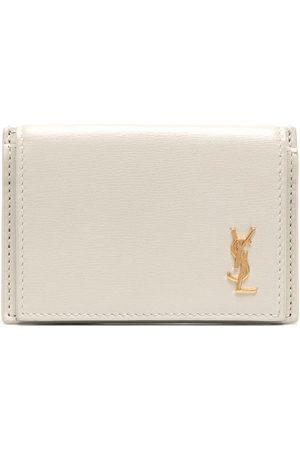 Saint Laurent Small monogram wallet - Neutrals