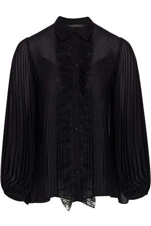 Persona by Marina Rinaldi Women's Elegante Filmato Georgette Shirt - - Size 16W