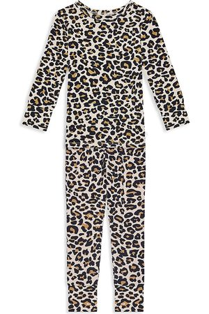 Posh Peanut Baby's, Little Girl's & Girl's Lana 2-Piece Leopard-Print Pajama Set - - Size 4