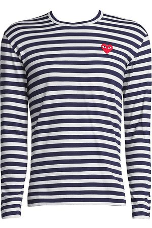 Comme des Garçons Women's Long-Sleeve Striped T-Shirt - - Size Small