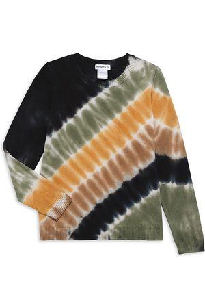 MINNIE ROSE Girl's Tie-Dye Crew Neck Sweater - - Size 14