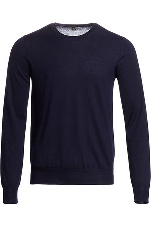 Saks Fifth Avenue Men's COLLECTION Lightweight Cashmere Crew Sweater - - Size Small