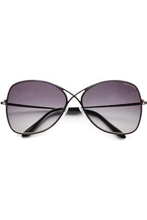 Tom Ford Women's Colette 63MM Rimless Aviator Sunglasses