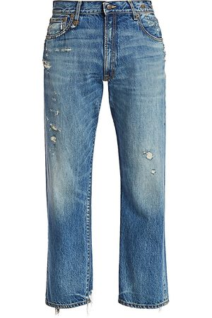 R13 Women's Distressed Boyfriend Jeans - - Size 27 (4)