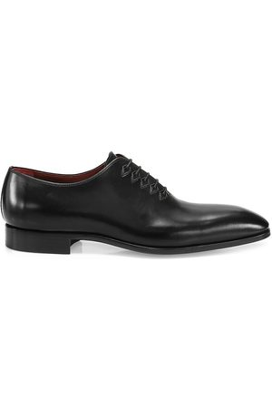 Saks Fifth Avenue Men's COLLECTION Blacker Leather Oxfords - - Size 8