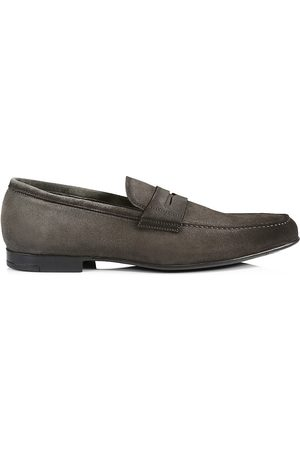 To Boot Men's Suede Penny Loafers - - Size 13