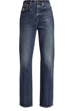 Khaite Women's Danielle High-Rise Jeans - - Size 25 (2)