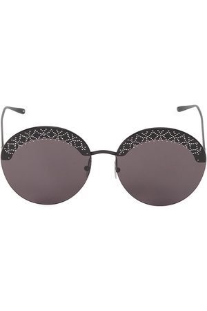 Alaïa Women's 61MM Embellished Round Sunglasses