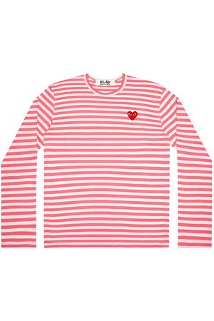 Comme des Garçons Women's Striped Long-Sleeve Shirt - - Size Small