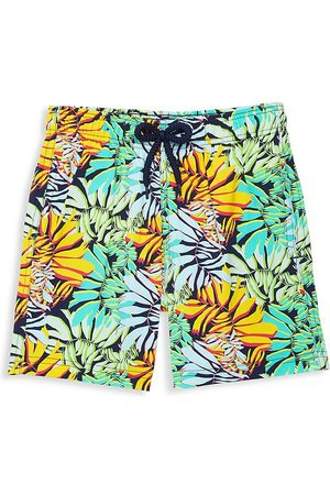 Vilebrequin Boys Swim Shorts - Little Boy's & Boy's Jungle Print Swim Trunks - - Size 14