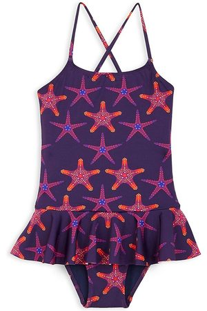 Vilebrequin Little Girl's & Girl's Starfish Dance One-Piece Swimsuit - - Size 12