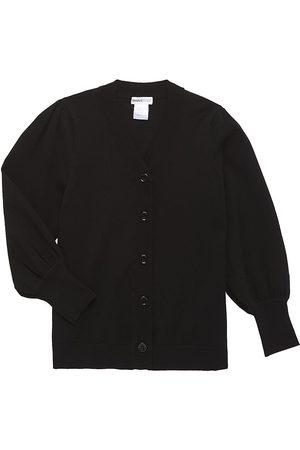 MINNIE ROSE Girl's Puff-Sleeve Cardigan - - Size 14
