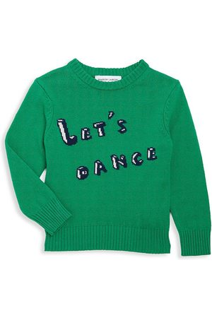 Maison Labiche Little Boy's & Boy's Let's Dance Intarsia Wool-Blend Sweater - - Size 8