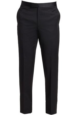 Saks Fifth Avenue Men's COLLECTION Wool Tuxedo Trousers - - Size 38 R