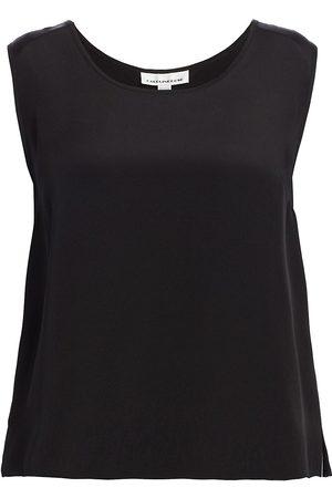 Caroline Rose Women's Silk Tank Top - - Size 1X (14-16)