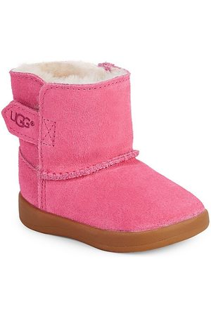 UGG Baby Girl's Keelan Lined Suede Booties - - Size 2-3 (Baby)