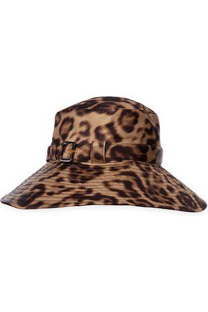 Eric Javits Women's Kaya Leopard-Print Hat