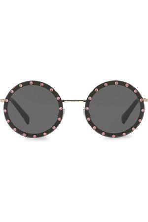 VALENTINO Women's 58MM Round Sunglasses