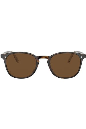 Oliver Peoples Women's Finley Vintage 49MM Round Sunglasses