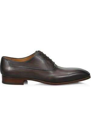 Saks Fifth Avenue Men's COLLECTION BY MAGNANNI Burnished Leather Brogues - - Size 13