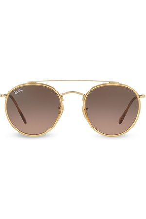 Ray-Ban Women's RB3647 51MM Iconic Round Aviator Sunglasses