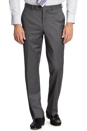 Saks Fifth Avenue Men's K-Body Wool Dress Pants - - Size 44 R