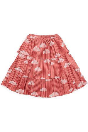 Bobo Choses Little Girl's & Girl's Cloud-Print Flared Skirt - - Size 4-5