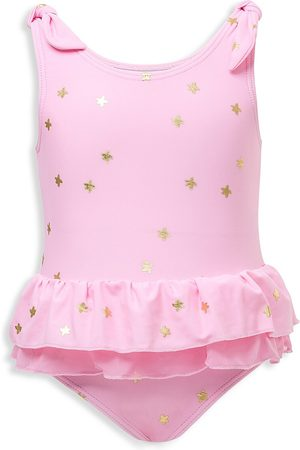Snapper Rock Baby Girl's Star One-Piece Swimsuit - - Size 6-12 Months