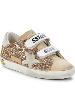 Golden Goose Baby's & Little Girl's Old School Glitter Low-Top Sneakers - - Size 26 EU (9.5 Toddler US)