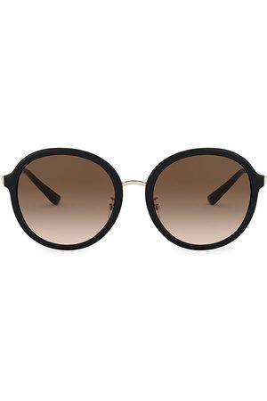 Tory Burch Women's 55MM Round Sunglasses