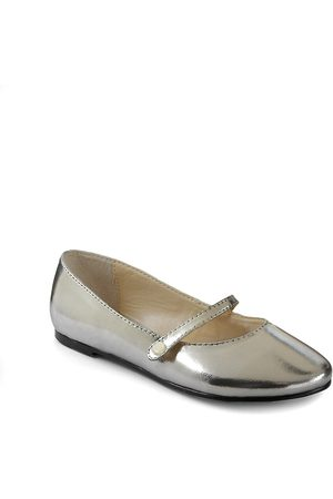 Ralph Lauren Infant's, Toddler's & Kid's Alyssa Metallic Mary Jane Flats - - Size 9 (Toddler)
