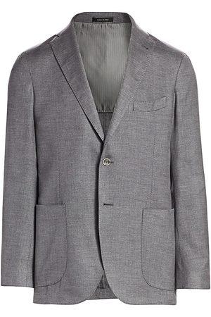 Saks Fifth Avenue Men's COLLECTION Melange Silk Sportcoat - - Size 40