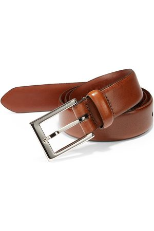 Saks Fifth Avenue Men's COLLECTION Leather Belt - - Size 38