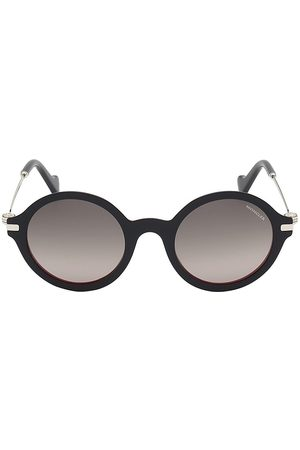 Moncler Women's 50MM Round Sunglasses