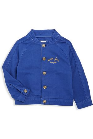Maison Labiche Little Boy's & Boy's Summer Chambray Bomber Jacket - - Size 6