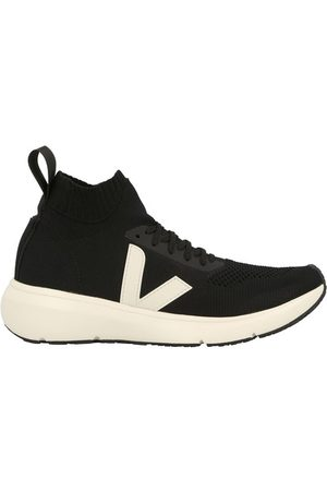 Rick Owens X Veja - High top sock sneakers